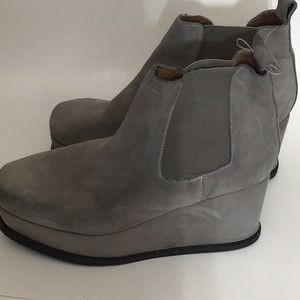 Jeffrey Campbell Platform Ankle Boots